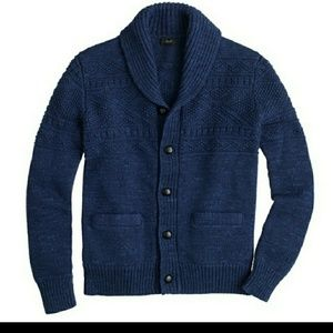 NWT J.Crew Guernsey Cardigan Medium